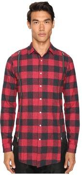 Mostly Heard Rarely Seen Zipper Shirt