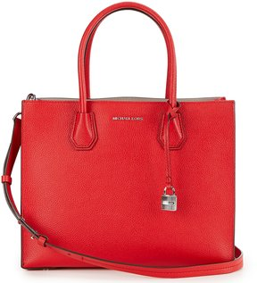 MICHAEL Michael Kors Studio Mercer Large Convertible Satchel - BRIGHT RED - STYLE