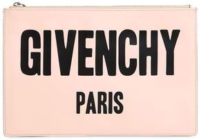 Givenchy Medium Iconic Printed Leather Pouch