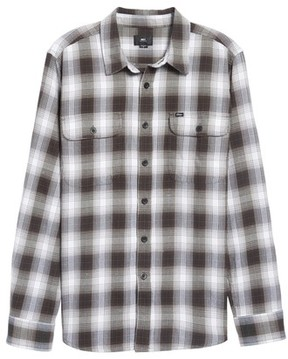 Obey Men's Kemper Plaid Woven Shirt