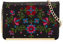 Neiman Marcus Flora Wallet on Chain