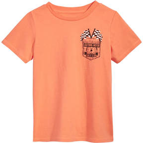 Epic Threads Graphic-Print Pocket T-Shirt, Little Boys, Created for Macy's