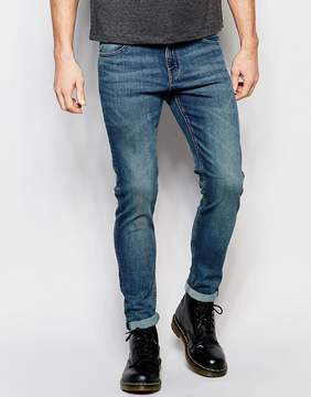 Cheap Monday Tight Skinny Jeans in Indigo Bleed