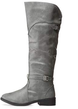 Charlotte Russe Qupid Buckled Riding Boots