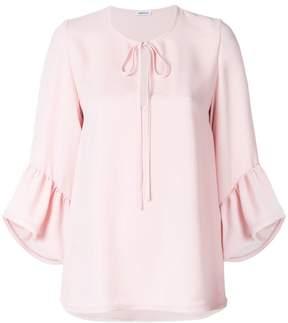 P.A.R.O.S.H. frill sleeve blouse