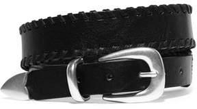 Rag & Bone Mckenzie Whipstitched Leather Belt