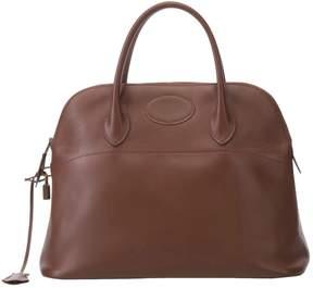 Hermes Bolide leather handbag - BROWN - STYLE