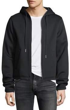 Helmut Lang Long-Sleeve Zip-Front Hoodie