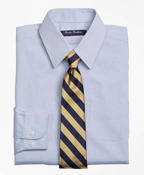 Brooks Brothers Non-Iron Supima® Pinpoint Cotton Forward Point Dress Shirt