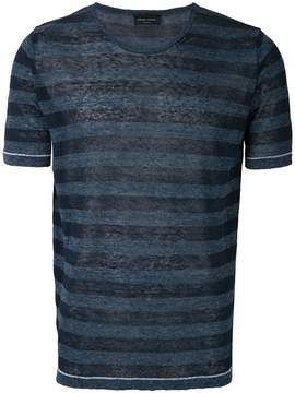 Roberto Collina striped T-shirt