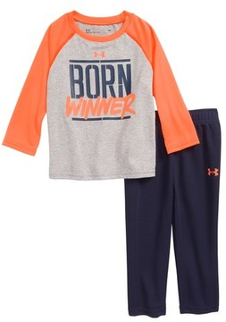 Under Armour Infant Boy's Born Winner T-Shirt & Pants Set