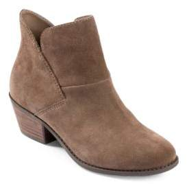 Me Too Zale Suede Almond Toe Ankle Boots