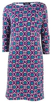 Nine West Women's Medallion Printed Sheath Dress