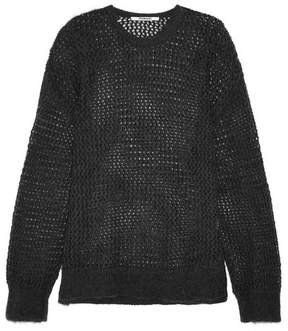Chalayan Open-knit Sweater - Charcoal