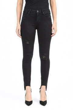 Articles of Society Distressed Step-Hem Jean