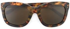Linda Farrow tortoiseshell sunglasses