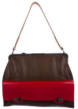 Marni Goat Leather Frame Bag