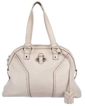 Saint Laurent Embossed Muse Bag