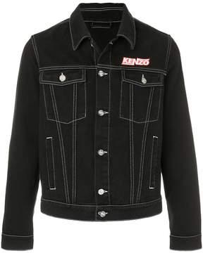 Kenzo denim jacket with stitching