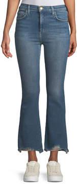 Current/Elliott High-Waist Kick Flare Jeans