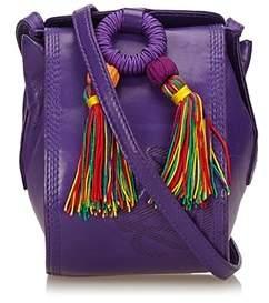 Loewe Pre-owned: Leather Tassel Bag.