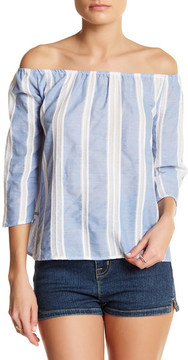 Blvd Nautical Off-The-Shoulder Blouse