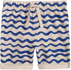 First Impressions Wave-Print Pull-On Shorts, Baby Boys, Created for Macy's