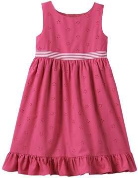 Chaps Toddler Girl Eyelet Dress