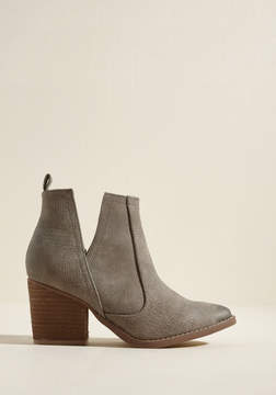 Not Rated Came and Vent Ankle Bootie