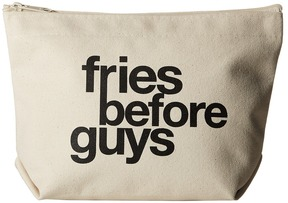 Dogeared - Fries Before Guys Lil Zip Cosmetic Case