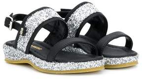 DSQUARED2 glitter embellished sandals