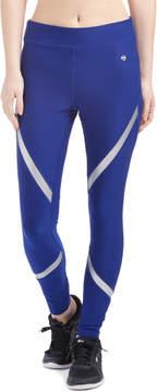 ABS by Allen Schwartz Electric Blue & Silver Reflective-Trim Leggings - Women