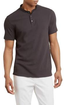 Kenneth Cole New York Waffle Knit Henley - Men's