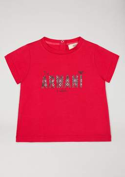 Armani Junior Ice Cream Print T-Shirt