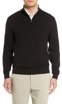 Cutter & Buck Men's Big & Tall Lakemont Half Zip Sweater