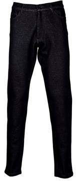 Majestic Men's 24001154 Black Cotton Pants.