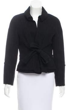 Christian Lacroix Tie-Waist Wool Jacket