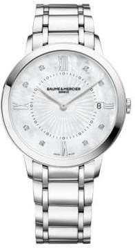 Baume & Mercier Classima 10225 Stainless Steel Bracelet Watch