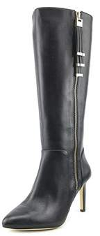 INC International Concepts Libbi Leather Knee High Heeled Boots.