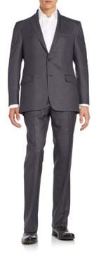 Hickey Freeman Regular-Fit Tonal Stripe Wool Suit