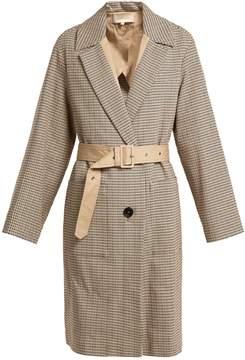 Vanessa Bruno Iambo checked cotton coat