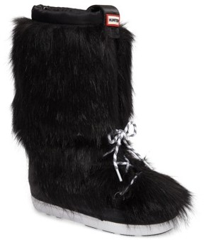 Hunter Women's Snow Original Faux Fur Boot