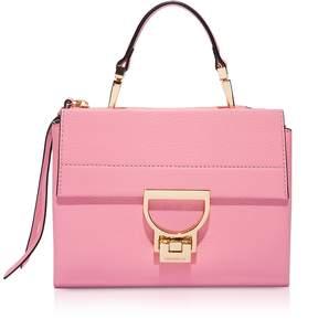 Coccinelle Arlettis Sorbet Pink Leather Mini Bag
