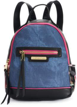 Juicy Couture Floral Denim Backpack