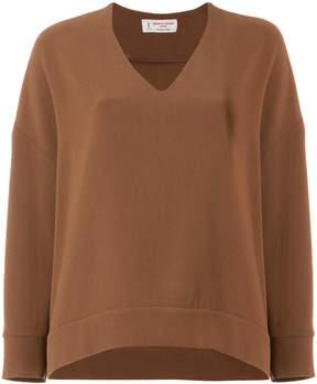 Alberto Biani tailored shift blouse