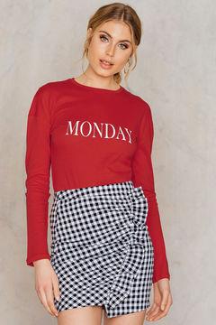 NA-KD Monday Long Sleeve Top