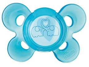 Chicco Pacifier, Physio comfort, blue, silicone 6-12m,