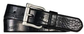 Ralph Lauren Alligator Belt Black 36