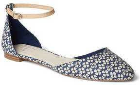 Gap Fabric ankle-strap d'Orsay flats