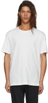 Issey Miyake White Bio Logo T-Shirt